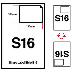 S16 Integrated Labels